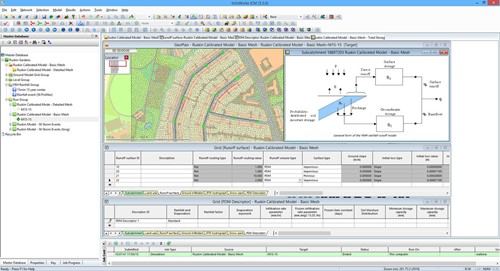InfoWorks PDM screen shot