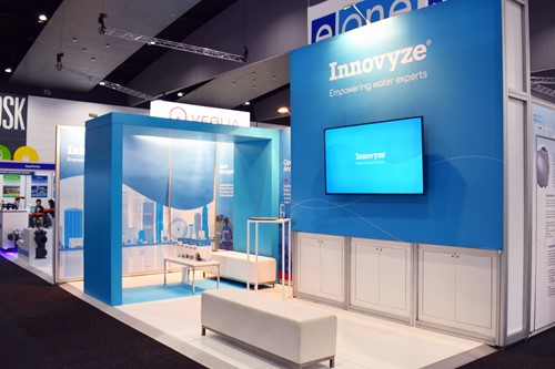 photo of Innovyze booth at Ozwater 2019